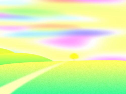 黄色い木2